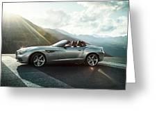 Bmw Zagato Roadster Greeting Card