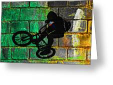 Bmx II Greeting Card