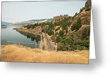 Bnsf Tunnel Greeting Card