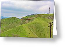 Bnsf7492 2 Greeting Card