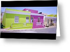 Bo Kaap Greeting Card