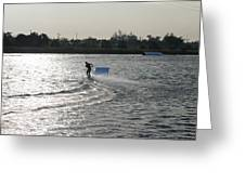 Board Jump Greeting Card
