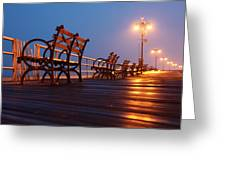 Boardwalk Greeting Card