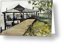 Boardwalk Sarasota Greeting Card