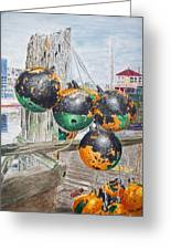 Boat Bumpers Greeting Card