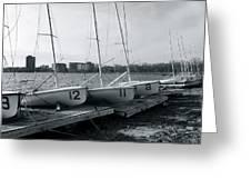 Boat Club #1 Greeting Card