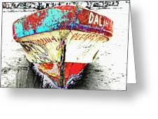 Boat Dalia, Puerta Vallarta, Mexico Greeting Card