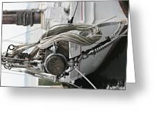 Boat Docked In St. Michael Greeting Card