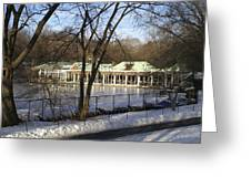 Boat House Central Park Ny Greeting Card