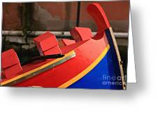 Boat In Venice Greeting Card