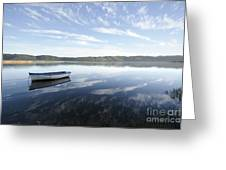 Boat On Knysna Lagoon Greeting Card