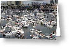 Boat Party Greeting Card