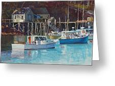 Boat Shack Greeting Card