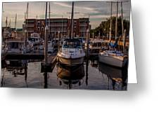 Boat Slip Greeting Card