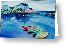 Boaters Paradise Greeting Card