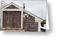 Boathouse Hyannis Massachusetts Greeting Card