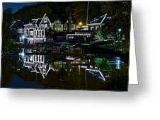 Boathouse Row Eight By Ten Greeting Card