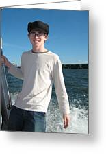 Boatride Greeting Card
