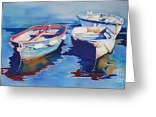 Boats 2 Greeting Card