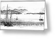 Boats Afloat Greeting Card