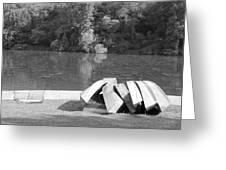 Boats At Northpark I Greeting Card