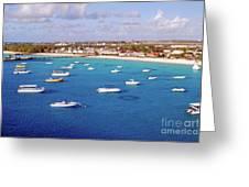 Boats  Grand Turk Greeting Card