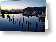 Boats Sleep Greeting Card