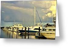 Boatworks 1 Greeting Card