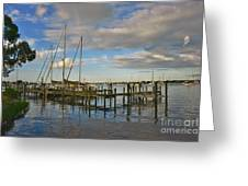 Boatworks 3 Greeting Card