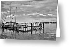 Boatworks 4 Greeting Card