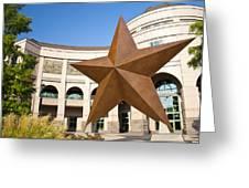 Bob Bullock Texas History Museum Greeting Card