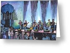 Bob Dylan Tribute Show Greeting Card