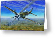 Bob Johnsons Thunderbolt Greeting Card