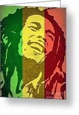 Bob Marley I Greeting Card
