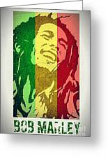Bob Marley II Greeting Card