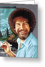 Bob Ross Greeting Card