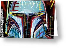 Boba Fett Ll Greeting Card