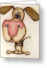 Bobblehead No 20 Greeting Card