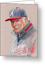 Bobby Cox Greeting Card