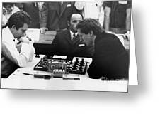 Bobby Fischer (1943-2008) Greeting Card