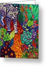 Bobcat Kachina  Greeting Card