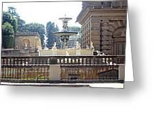 Boboli Gardens In Florence, Italy Greeting Card