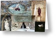 Boboli La Grotta Grande 2 Greeting Card by Ellen Henneke