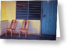 Boca De Yumuri Porch Greeting Card