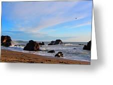 Bodega Bay Sunset Greeting Card