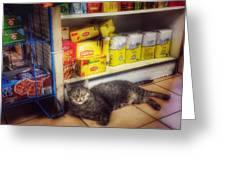 Bodega Cat - At Home In New York Greeting Card