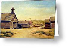 Bodie California Greeting Card by Evelyne Boynton Grierson