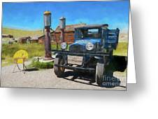 Bodie California Ghost Town Old Vintage Dodge Truck Ap Greeting Card
