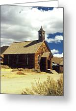 Bodie Church II Greeting Card