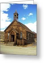 Bodie Church IIi Greeting Card